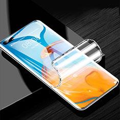 Pellicola Protettiva Film Integrale Proteggi Schermo F02 per Huawei P40 Pro+ Plus Chiaro