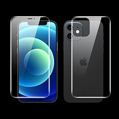 Pellicola Protettiva Fronte e Retro Proteggi Schermo Film F01 per Apple iPhone 12 Mini Chiaro