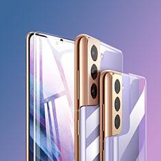 Pellicola Protettiva Fronte e Retro Proteggi Schermo Film F01 per Samsung Galaxy S21 Plus 5G Chiaro