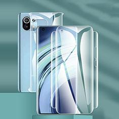 Pellicola Protettiva Fronte e Retro Proteggi Schermo Film F01 per Xiaomi Mi 11 5G Chiaro