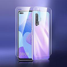 Pellicola Protettiva Fronte e Retro Proteggi Schermo Film per Huawei Nova 6 5G Chiaro