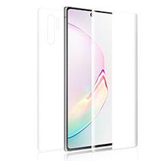 Pellicola Protettiva Fronte e Retro Proteggi Schermo Film per Samsung Galaxy Note 10 Plus Chiaro