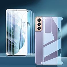 Pellicola Protettiva Fronte e Retro Proteggi Schermo Film per Samsung Galaxy S21 5G Chiaro
