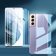 Pellicola Protettiva Fronte e Retro Proteggi Schermo Film per Samsung Galaxy S21 Plus 5G Chiaro