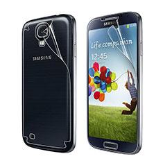 Pellicola Protettiva Fronte e Retro Proteggi Schermo Film per Samsung Galaxy S4 i9500 i9505 Chiaro