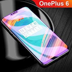 Pellicola Protettiva Proteggi Schermo Film Integrale Anti Blu-Ray per OnePlus 6 Chiaro