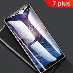 Pellicola Protettiva Proteggi Schermo Film Integrale F01 per Nokia 7 Plus Chiaro