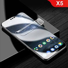 Pellicola Protettiva Proteggi Schermo Film Integrale per Nokia X5 Chiaro