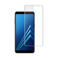 Pellicola Protettiva Proteggi Schermo Film per Samsung Galaxy A8+ A8 Plus (2018) A730F Chiaro