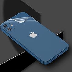 Pellicola Protettiva Retro Proteggi Schermo Film per Apple iPhone 12 Mini Chiaro