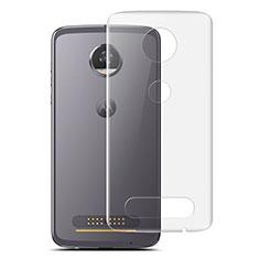 Pellicola Protettiva Retro Proteggi Schermo Film per Motorola Moto Z2 Play Chiaro