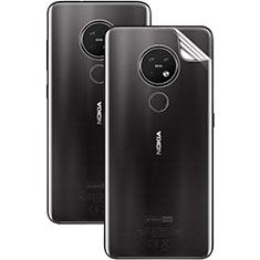 Pellicola Protettiva Retro Proteggi Schermo Film per Nokia 7.2 Chiaro