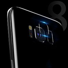 Protettiva della Fotocamera Vetro Temperato C02 per Samsung Galaxy S8 Plus Chiaro