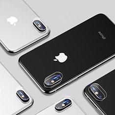 Protettiva della Fotocamera Vetro Temperato P01 per Apple iPhone Xs Max Chiaro