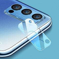 Protettiva della Fotocamera Vetro Temperato Proteggi Schermo C01 per Oppo Reno4 Pro 5G Chiaro