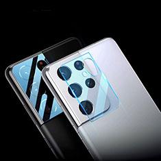 Protettiva della Fotocamera Vetro Temperato Proteggi Schermo C01 per Samsung Galaxy S21 Ultra 5G Chiaro