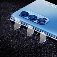 Protettiva della Fotocamera Vetro Temperato Proteggi Schermo C02 per Oppo Reno4 5G Chiaro