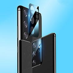 Protettiva della Fotocamera Vetro Temperato Proteggi Schermo C03 per Samsung Galaxy S21 Ultra 5G Chiaro