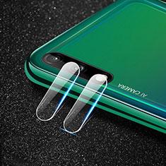 Protettiva della Fotocamera Vetro Temperato Proteggi Schermo per Huawei Enjoy 10 Chiaro