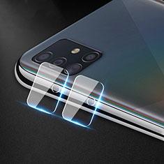 Protettiva della Fotocamera Vetro Temperato Proteggi Schermo per Samsung Galaxy A51 4G Chiaro