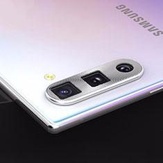 Protettiva della Fotocamera Vetro Temperato Proteggi Schermo per Samsung Galaxy Note 10 5G Argento