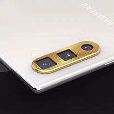 Protettiva della Fotocamera Vetro Temperato Proteggi Schermo per Samsung Galaxy Note 10 5G Oro