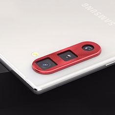 Protettiva della Fotocamera Vetro Temperato Proteggi Schermo per Samsung Galaxy Note 10 5G Rosso