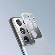 Protettiva della Fotocamera Vetro Temperato Proteggi Schermo per Samsung Galaxy S21 Ultra 5G Argento