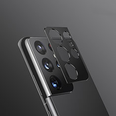 Protettiva della Fotocamera Vetro Temperato Proteggi Schermo per Samsung Galaxy S21 Ultra 5G Nero