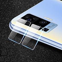 Protettiva della Fotocamera Vetro Temperato Proteggi Schermo per Vivo X50 Pro 5G Chiaro