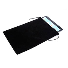 Sacchetto in Velluto Custodia Marsupio Tasca per Apple iPad Air Nero