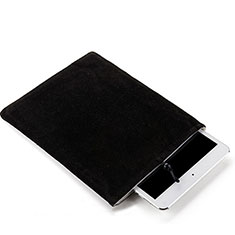 Sacchetto in Velluto Custodia Tasca Marsupio per Samsung Galaxy Note 10.1 2014 SM-P600 Nero