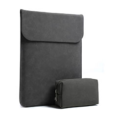 Sacchetto in Velluto Custodia Tasca Marsupio S02 per Huawei Honor MagicBook Pro (2020) 16.1 Nero