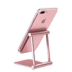 Sostegno Cellulari Supporto Smartphone Universale K20 per Xiaomi Mi 9T Pro Oro Rosa