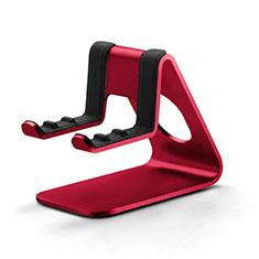 Sostegno Cellulari Supporto Smartphone Universale K25 per Xiaomi Mi 9T Pro Rosso
