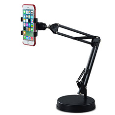 Sostegno Cellulari Supporto Smartphone Universale K34 per Asus Zenfone 2 ZE551ML ZE550ML Nero