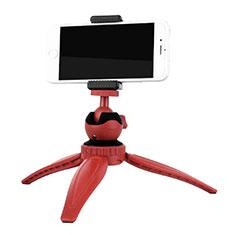 Sostegnotile Bluetooth Selfie Stick Tripode Allungabile Bastone Selfie Universale T09 per Xiaomi Redmi Note 7 Pro Rosso