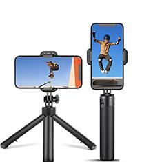Sostegnotile Bluetooth Selfie Stick Tripode Allungabile Bastone Selfie Universale T12 per Xiaomi Redmi Note 7 Pro Nero