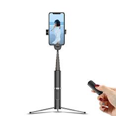Sostegnotile Bluetooth Selfie Stick Tripode Allungabile Bastone Selfie Universale T20 per Xiaomi Redmi Note 7 Pro Nero