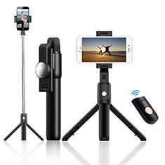 Sostegnotile Bluetooth Selfie Stick Tripode Allungabile Bastone Selfie Universale T22 per Xiaomi Poco X3 NFC Nero