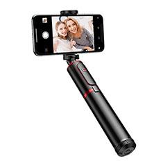 Sostegnotile Bluetooth Selfie Stick Tripode Allungabile Bastone Selfie Universale T23 per Xiaomi Redmi Note 7 Pro Nero