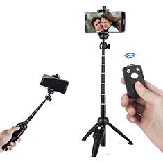 Sostegnotile Bluetooth Selfie Stick Tripode Allungabile Bastone Selfie Universale T24 per Xiaomi Poco X3 NFC Nero