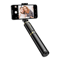 Sostegnotile Bluetooth Selfie Stick Tripode Allungabile Bastone Selfie Universale T34 per Apple iPhone 8 Plus Oro e Nero