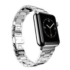 Stainless Cinturino Braccialetto Acciaio per Apple iWatch 3 38mm Argento