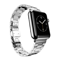 Stainless Cinturino Braccialetto Acciaio per Apple iWatch 5 40mm Argento