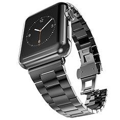 Stainless Cinturino Braccialetto Acciaio per Apple iWatch 5 40mm Nero