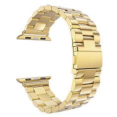 Stainless Cinturino Braccialetto Acciaio per Apple iWatch 5 40mm Oro