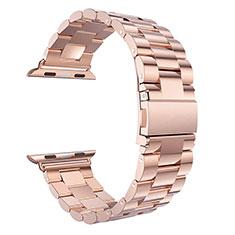 Stainless Cinturino Braccialetto Acciaio per Apple iWatch 5 40mm Oro Rosa