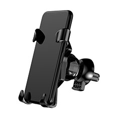 Supporto Cellulare Da Auto Bocchette Aria Universale A03 per Apple iPhone 11 Pro Nero