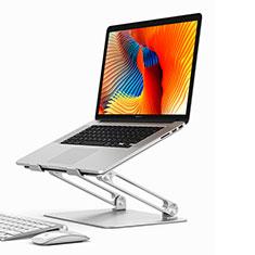 Supporto Computer Sostegnotile Notebook Universale K02 per Huawei MateBook D15 (2020) 15.6 Argento